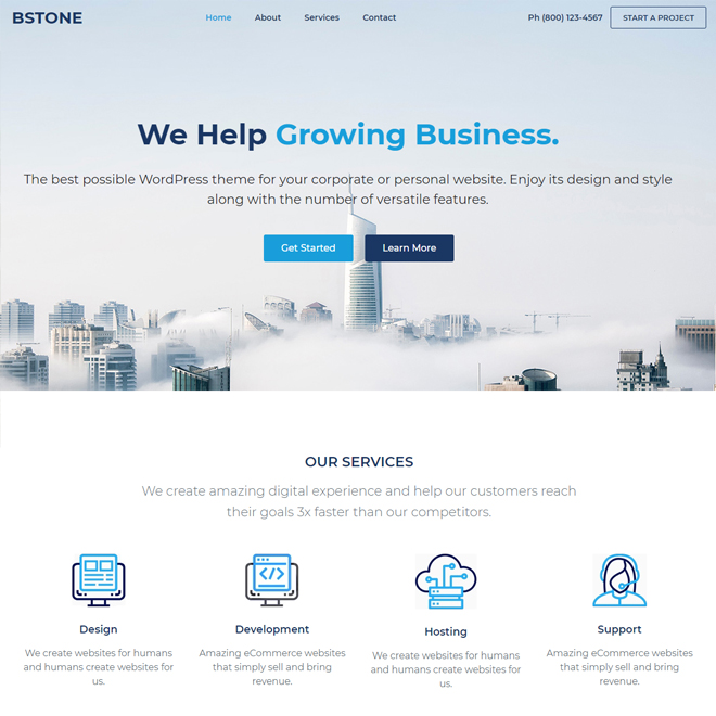 Bstone - Fastest WordPress Theme
